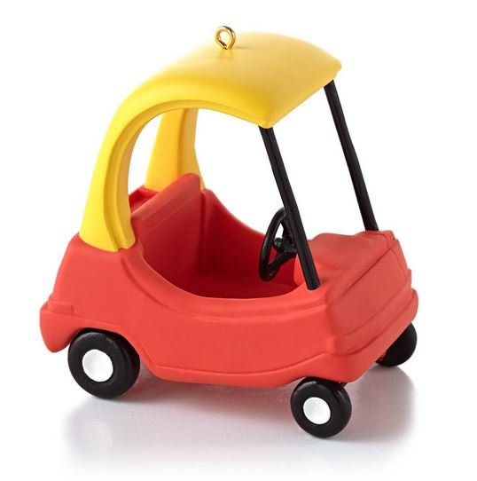 2013 Cozy Coupe Hallmark Ornament, Little Tikes