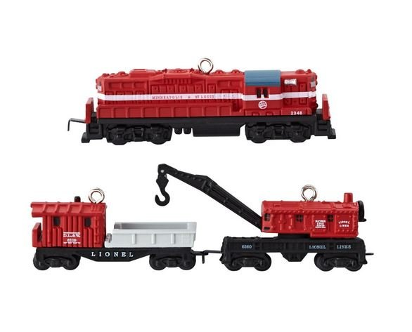 2013 LIONEL Minneapolis and St. Louis Work Train, Miniature