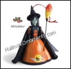 2013 Madame Alexander Halloween Wicked Witch of the West, Club Ornament