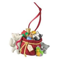 2013 Mischievous Kitten - 15th Anniversary Club Ornament