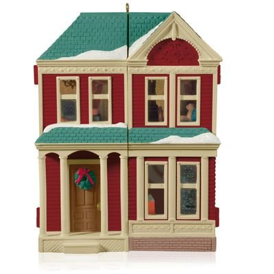2014 Victorian Dollhouse, Colorway, Club Ornament - RARE
