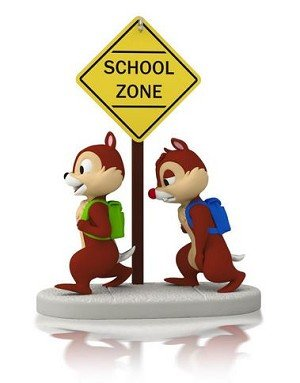 2014 A Year of Disney Magic #2, School Time for Chipmunks