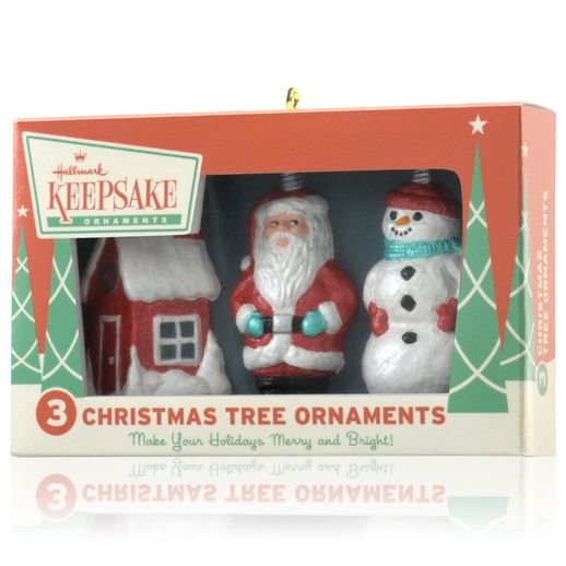 2014 Nifty Fifties Keepsake Ornaments DB
