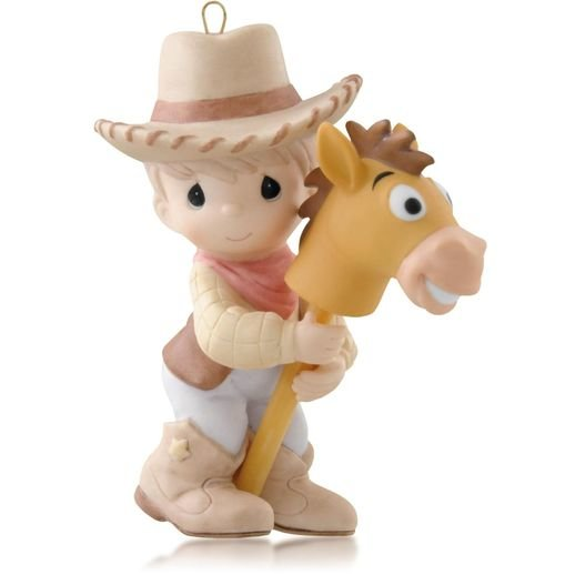 2014 Woody and Bullseye, Disney Toy Story, Precious Moments
