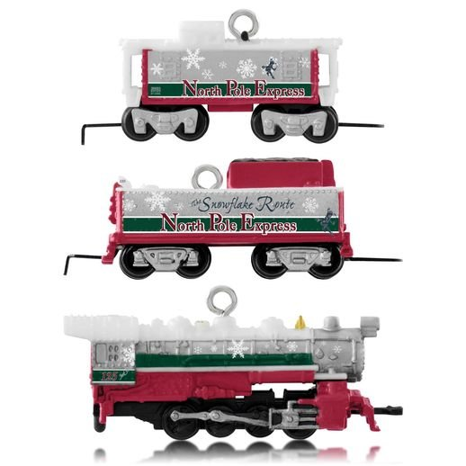 2014 LIONEL North Pole Express, Miniature