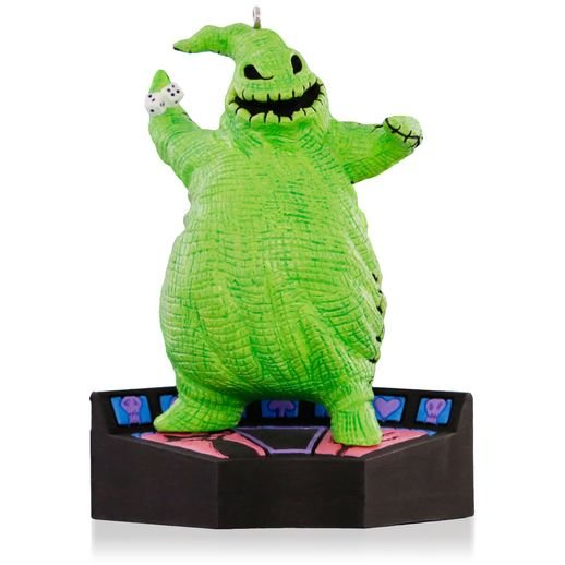 2015 Oogie Boogie, Disney Tim Burton's The Nightmare Before Christmas, Halloween, Magic
