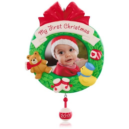 2015 My First Christmas, Photo Holder