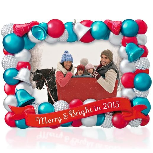 2015 Merry and Bright, Photo Holder
