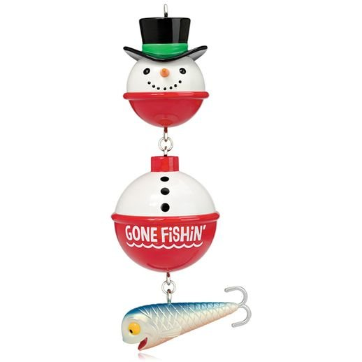 2015 Gone Fishin Snowman
