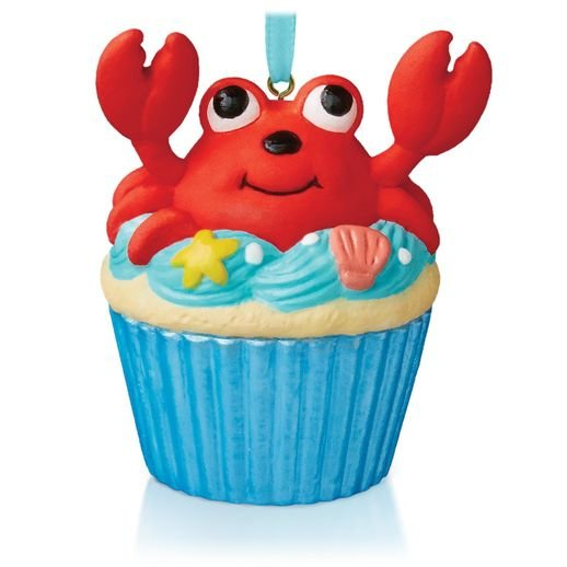 2015 A Little Crab Cake, Keepsake Cupcake #1