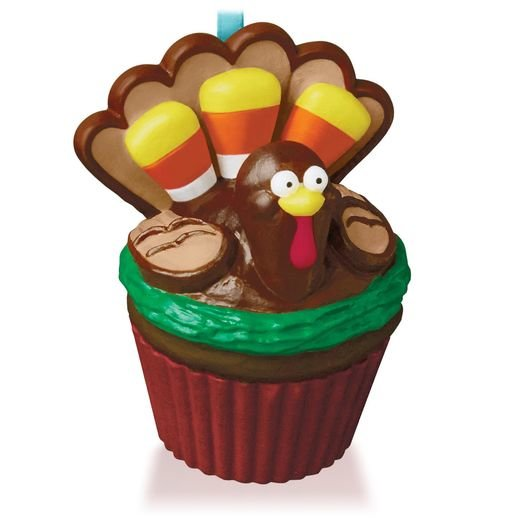 2015 Grateful Gobbler Turkey Keepsake Cupcake
