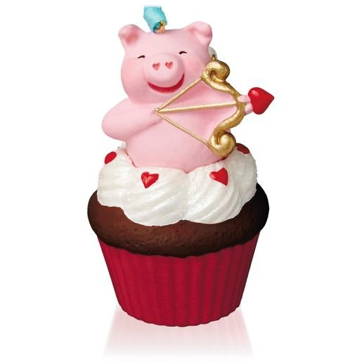 2015 Little Cupiggy Keepsake Cupcake