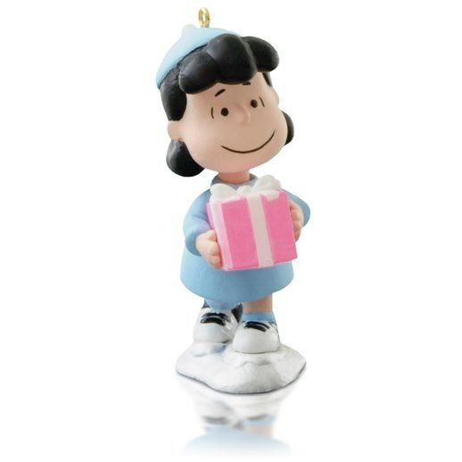 2015 Peanuts Lucy's Christmas Present - Avail Nov
