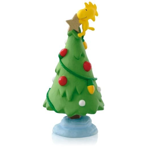 2015 Peanuts® Woodstock Gold Star Christmas Tree