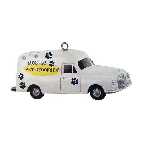 2015 Mobile Pet Grooming, Nostalgic Houses & Shops, Miniature - Limited Quanity