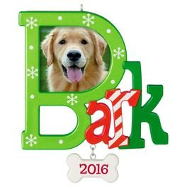 2016 Bark, Dog Photo Holder