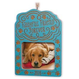 2016 Faithful Friend Forever, Photo holder