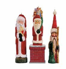 2016 Rustic Santas, Club Ornament