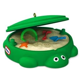 2016 Turtle Sandbox, Little Tikes, Miniature