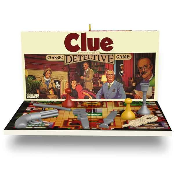 2017 Clue, Family Game Night #4