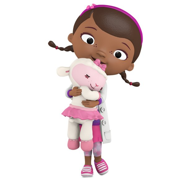2017 Doc and Lambie - Disney Doc McStuffins