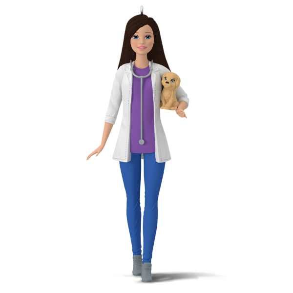 2017 Veterinarian Barbie Ornament