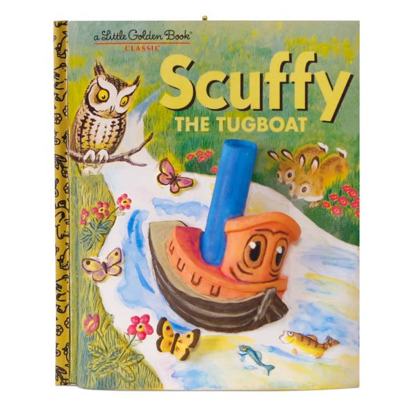 2017 Scuffy the Tugboat - Little Golden Books