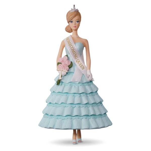 2017 Homecoming Queen Barbie Ornament