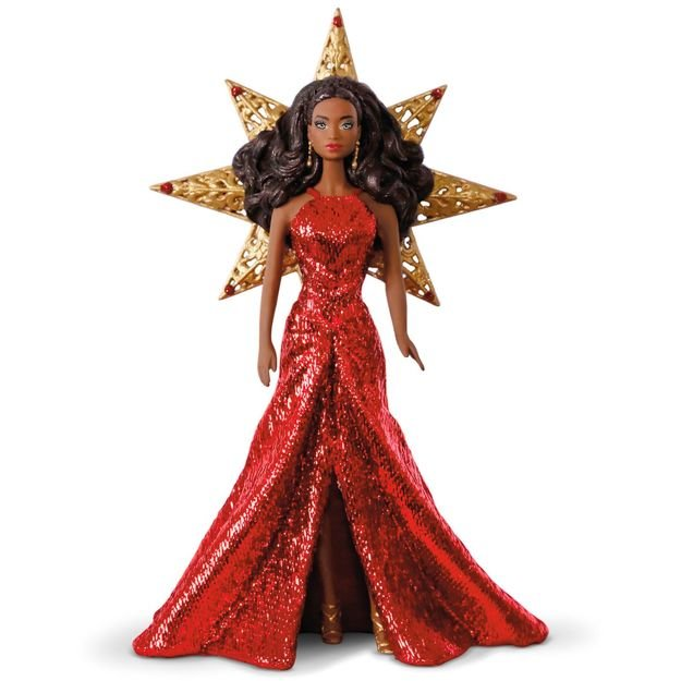 2017 Holiday Barbie Ornament #3, African-American