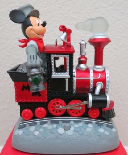 2017 Mickey's Magical Railroad Ornament Train - D23 EXPO - RARE