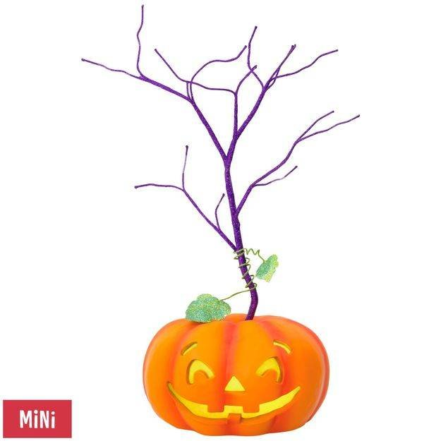 2017-18 Halloween - Jack O Lantern Miniature Tree
