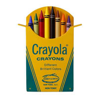 2018 Classic Box of 8, Crayola Crayons