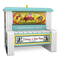 2018 Change-a-Tune Piano, Fisher Price, Magic - DB