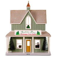 2018 Festive Firs Christmas Tree Farm, Nostalgic Houses and Shops #35 - PRE-ORDER, SHIPS JULY 14