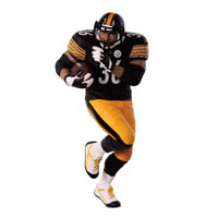 2018 Jerome Bettis, Pittsburgh Steelers, Football Legends Compliment