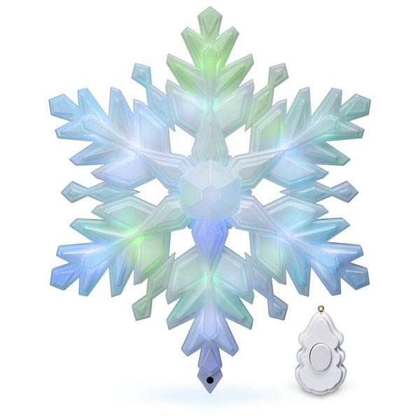 2018 Stunning Snowflake, Tree Topper, Magic