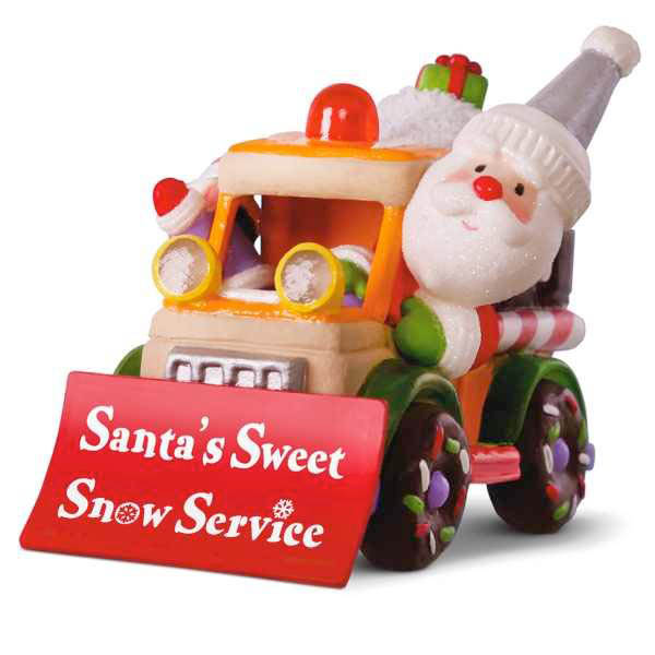 2018 Santa's Sweet Snow Plow, Santa's Sweet Ride Compliment, Magic