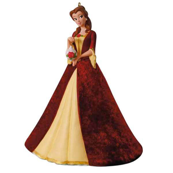 2018 Christmas Belle, Disney Beauty and the Beast, Porcelain - PRE-ORDER NOW, SHIPS AFTER JULY 14