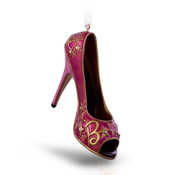 2018 Shoe-sational! Barbie, Premium Ornament  - AVAIL DEC