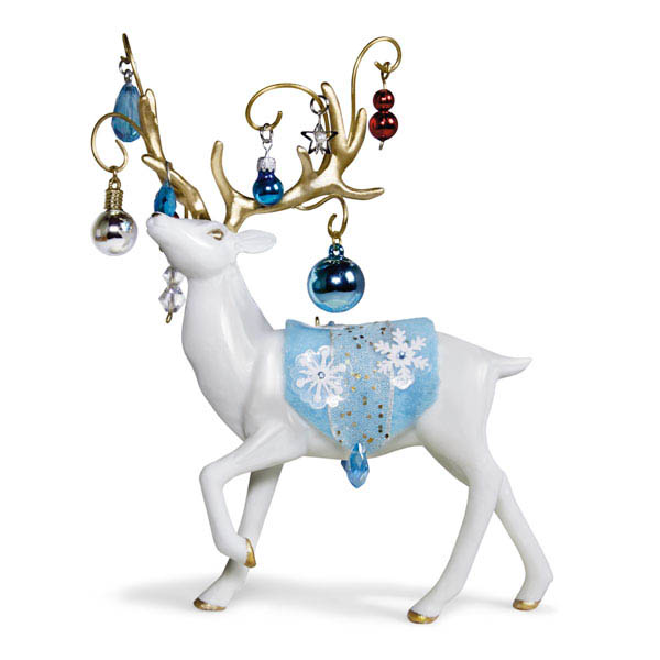 2018 Regal Reindeer, Premium Ornament DB