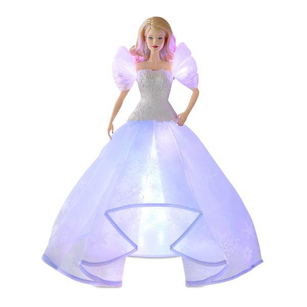 2018 Angel Lights Barbie, Tree Topper