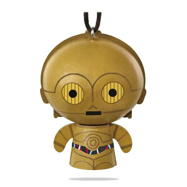2018 Star Wars C-3PO Ornament, Wood