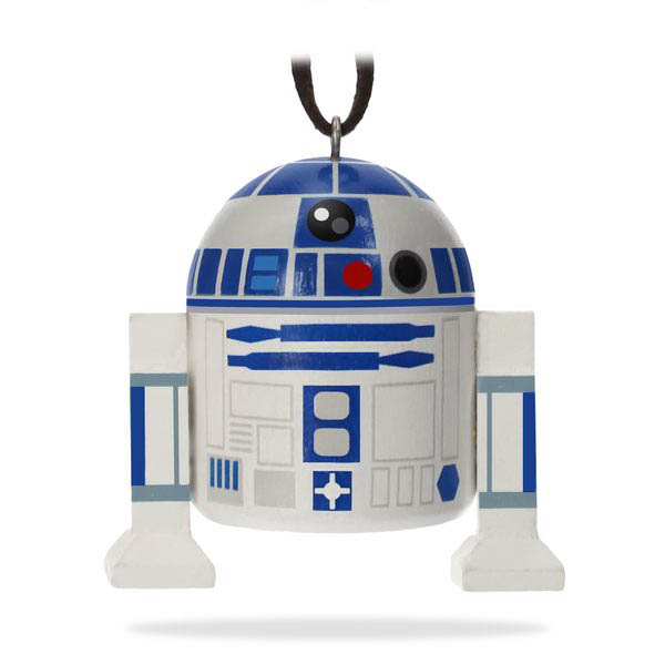 2018 Star Wars R2-D2 Ornament, Wood