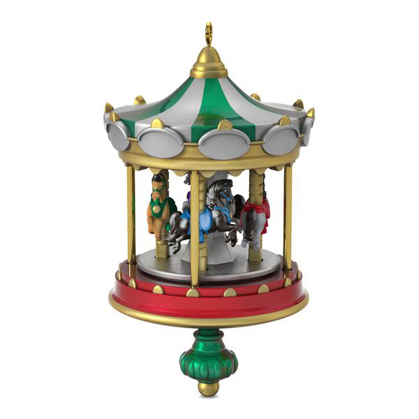 2018 Christmas Carousel #2, Miniature - PRE-ORDER NOW, SHIPS AFTER JULY 14