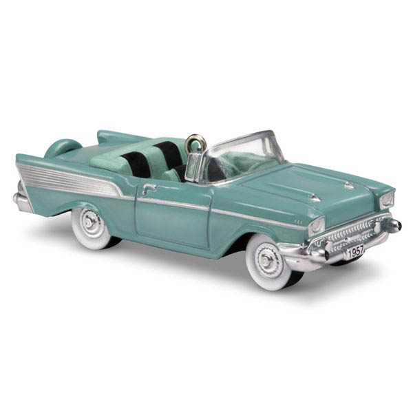 2018 1957 Chevrolet Bel Air, Lil' Classic Cars #1, Miniature - DB