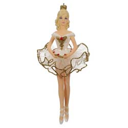2019 Beautiful Ballerina Barbie Ornament - AVAIL OCT