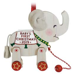 2019 Baby's First Christmas, Elephant
