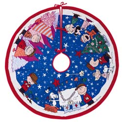 2019 A Charlie Brown Christmas Tree Skirt, Peanuts, Magic - AVAIL OCT