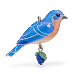 2019 Eastern Bluebird, Miniature - PRE-ORDER NOW, SHIPS AFTER JULY 13