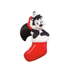 2019 Kiss-mas Greetings Pepe Le Pew, LOONEY TUNES, Miniature - PRE-ORDER NOW - SHIPS AFTER OCT 7